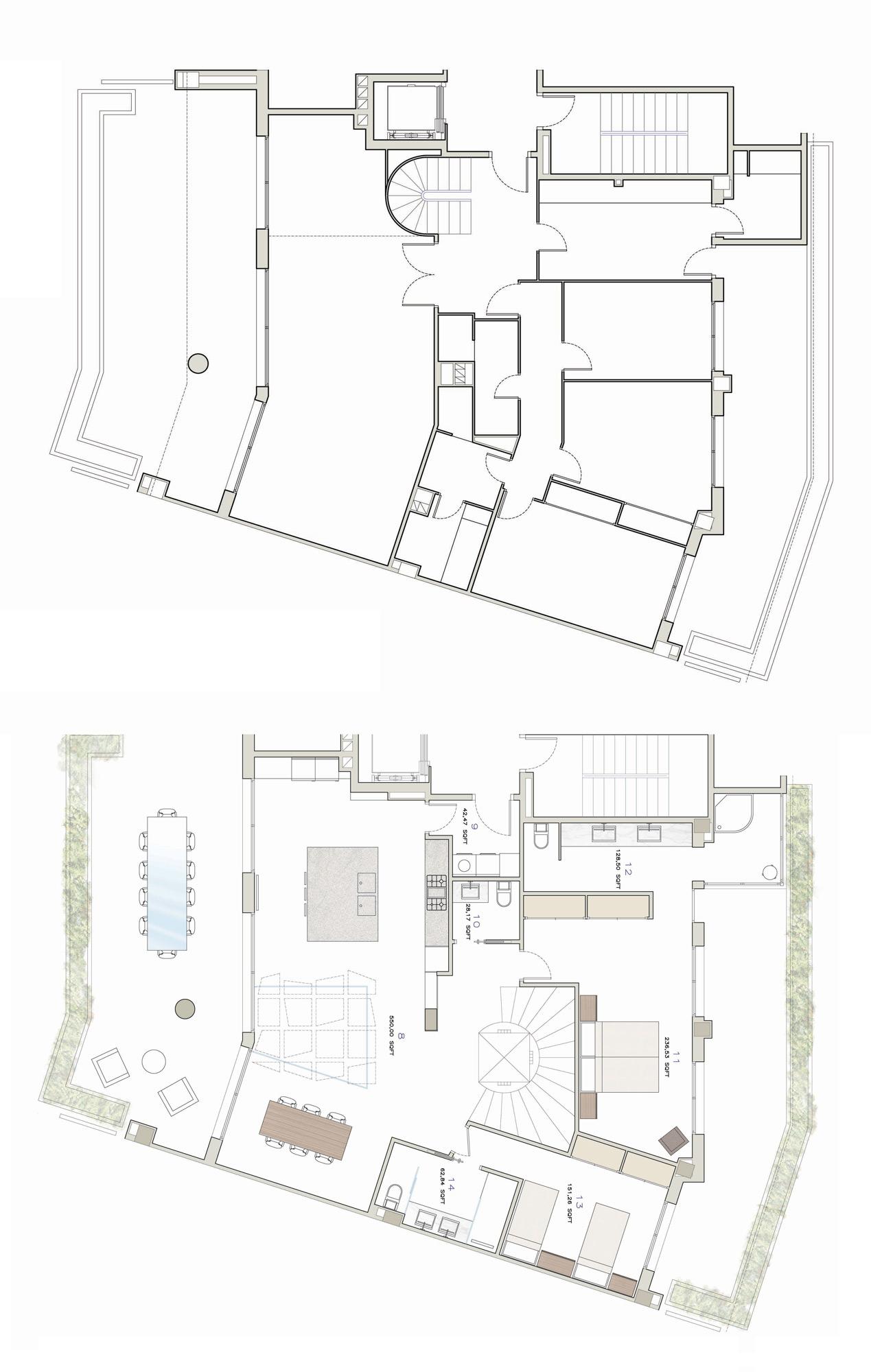 Arquitectura e dise o interior en barcelona y sitges - Planos de arquitectos ...