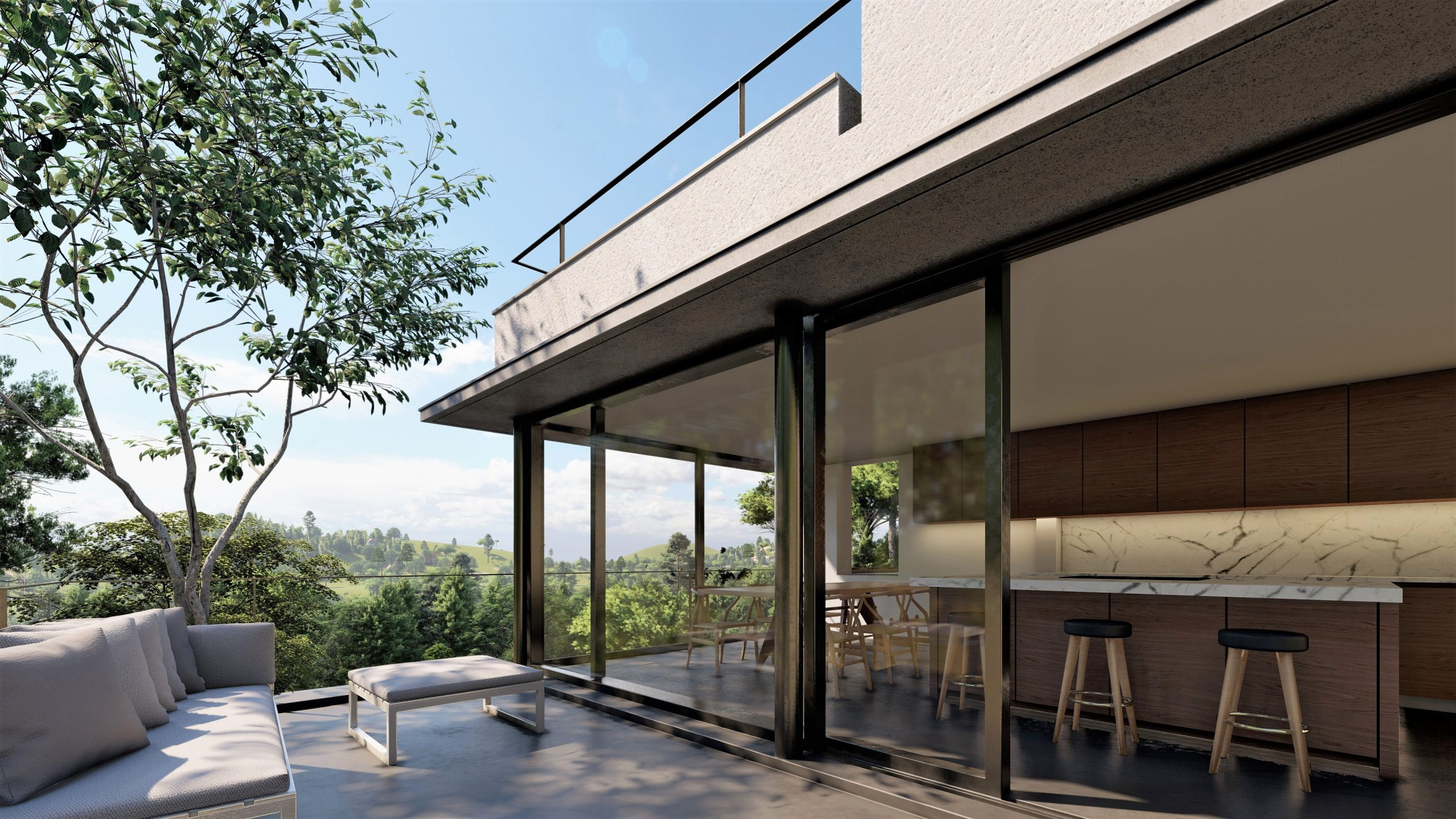 ARQUITECTOS BARCELONA RARDO ARCHITECTS IN BARCELONA AND SITGES NEW FAMILY HOUSE