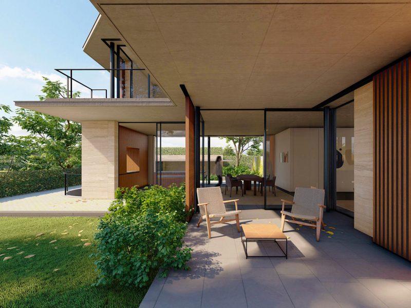 casa de lujo en plana, Sitges, Barcelona passiv house