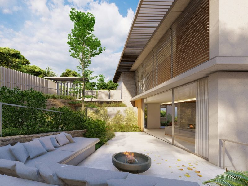 luxury villas in Sitges designed by Rardo architects